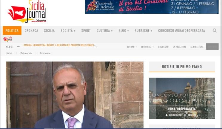 Alfio Papale su Sicilia Journal