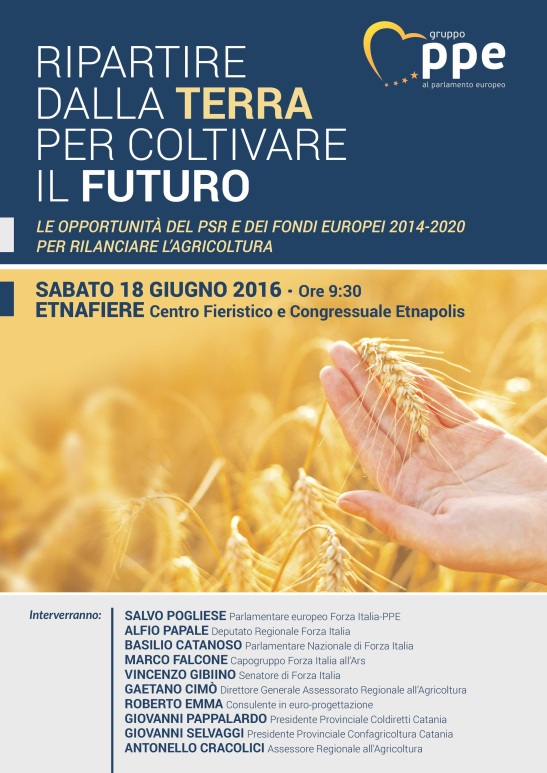 Manifesto convegno agricoltura